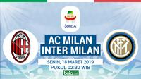 Serie A - AC Milan Vs Inter Milan (Bola.com/Adreanus Titus)
