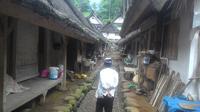 Rumah Adat Kampung Naga Tasikmalaya (Liputan6.com/Jayadi Supriadin)