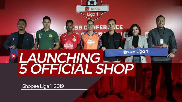 Berita Video Antusiasme Fans Meningkat,Shopee Luncurkan 5 Official Shop Klub Liga 1