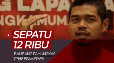 Berita video striker Persija Jakarta, Bambang Pamungkas, mengungkapkan makna berharga dari sepatu bola pertamanya yang memiliki harga 12 ribu rupiah.