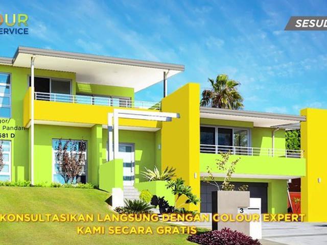 80 Koleksi Gambar Rumah Warna Kombinasi HD Terbaru