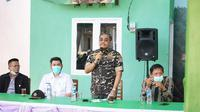 Wakil Ketua MPR Jazilul Fawaid saat Sosialisasi Empat Pilar MPR di Warkop Lempah Kuning Aswaja, Desa Kurau Barat, Bangka Tengah, Provinsi Bangka Belitung, Rabu (18/11/2020).