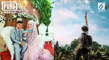 Berawal dari game bareng, pasangan yang gemar main PUBG ini memutuskan untuk menikah.