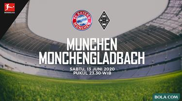 Bundesliga - Bayern Munchen Vs Borussia Monchengladbach