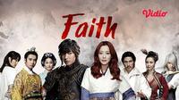 Drama Korea Faith di Vidio (Sumber: Vidio)
