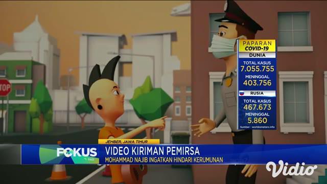 Film kartun atau animasi pendek berjudul Pejuang Santuy ini merupakan karya Mohamad Najib, warga Jember, Jawa Timur.