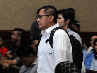 20160323-Anas Urbaningrum Bersaksi untuk Nazaruddin di Tipikor-Jakarta