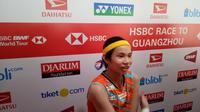 Tai Tzu Ying sempat kesulitan pada babak pertama Indonesia Masters 2018.