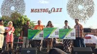 BP Jamsostek melindungi seluruh artis dan official Ngayogjazz 2019. (Liputan6.com/ Switzy Sabandar)