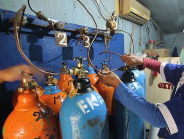 Pesanan Tabung Oksigen Meningkat Drastis
