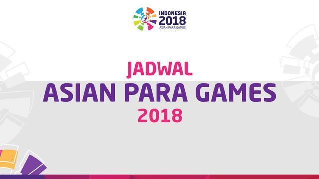 Berita video jadwal pertandingan serta venue Asian Para Games 2018.