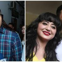 Saipul Jamil dan Dewi Perssik-Angga Wijaya. (Deki PrayogaBambang E. Ros/Bintang.com)