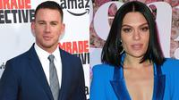 Channing Tatum dan Jessie J dikabarkan pacaran. (Chris Delmas / Leon Bennett / AFP)