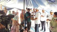Sejumlah pelaku industri jasa keuangan (IJK) menggalang bantuan bagi korban gempa bumi dan tsunami di Sulawesi Tengah. Dok OJK
