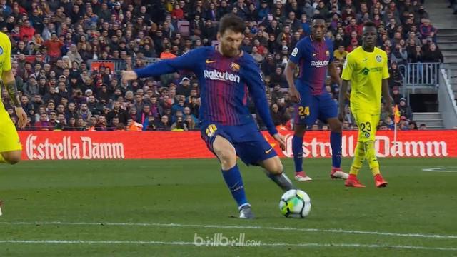 Getafe bergabung dengan Celta Vigo sebagai tim langka yang bisa meninggalkan Camp Nou dengan membawa poin musim ini, setelah merek...