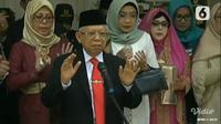 Wakil Presiden Ma'ruf Amin. (Liputan6.com)