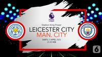 Leicester City vs Manchester City (liputan6.com/Abdillah)