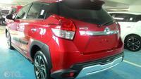 Toyota Yaris Heylers terparkir di dealer Toyota (Oto.com)