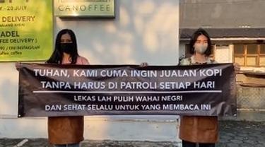 Semangat Bertahan Kedai Kopi di Semarang Hadapi Pembatasan akibat Pandemi