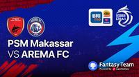 Big Match  PSM Makassar vs Arema FC 5 September 2021