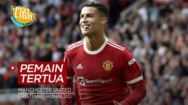 Berita video spotlight yang membahas tenang empat pemain paling senior di skuad Manchester United saat ini, salah satunya ialah Cristiano Ronaldo.