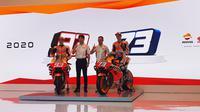 Launching Repsol Honda di Jakarta, Selasa (4/2/2020)