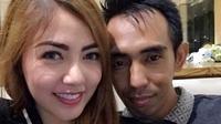 Bella Shofie dan suami, Suryono. (foto: instagram.com/bellashofie_suryo)