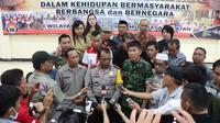 Kapolres Minahasa Selatan AKBP FX Winardi Prabowo (Liputan6.com/ Muhammad Radityo Priyasmoro)