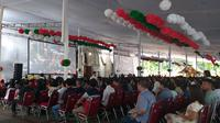 Ibadah Natal di Gereja Katedral Jakarta (Liputan6.com/ Ika Defianti)