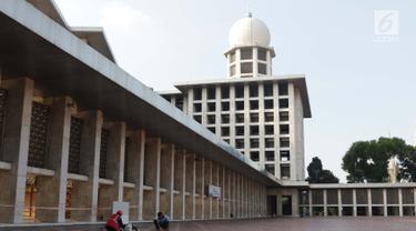 Renovasi Masjid Istiqlal Mulai Dikerjakan