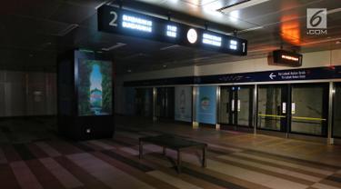 Listrik Padam, Layanan MRT Lumpuh Total