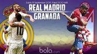 Real Madrid vs Granada (Bola.com/Samsul Hadi)