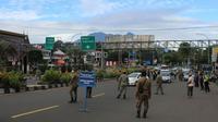 Setiap tamu yang akan menginap maupun berwisata di wilayah Bogor diwajibkan menyertakan hasil rapid test antigen negatif Covid-19. (Liputan6.com/Achmad Sudarno)