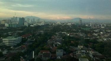 Cuaca Jakarta Berawan