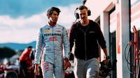 Pebalap Prema Racing, Sean Gelael, mencatatkan hasil yang kurang impresif pada sesi tes pramusim Formula 2 di Sirkuit Paul Ricard, Le Castellet, Prancis, 6-8 Maret 2018. (Instagram / Sean Gelael)