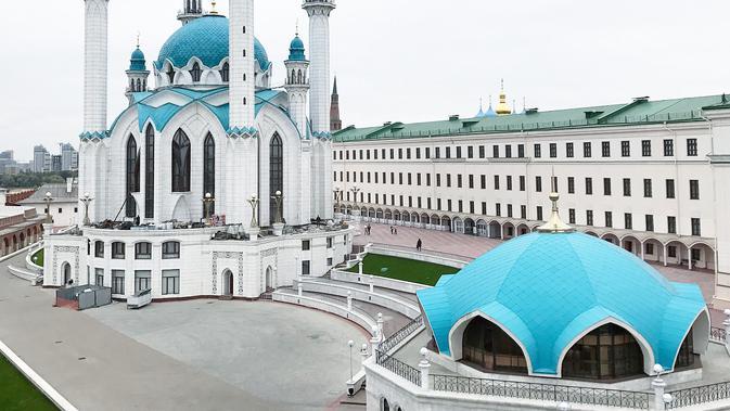 Unggahan Lindswell Kwok tentang Masjid Qolsharif di Kazan, Rusia. (dok. Instagram @lindswell_k/https://www.instagram.com/p/BbHGrjonOWe/Dinny Mutiah)#source%3Dgooglier%2Ecom#https%3A%2F%2Fgooglier%2Ecom%2Fpage%2F%2F10000
