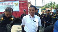 Direktur Reskrimsus Polda Sulsel, Kombes Pol Yudhiawan Wibisono mengaku jika pihaknya telah mengantongi identitas tersangka kasus dugaan korupsi pembangunan pasar rakyat di Kabupaten Jeneponto (Liputan6.com/ Eka Hakim)