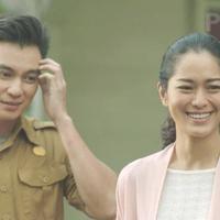 Baim Wong dan Prisia Nasution di film Jejak Cinta.