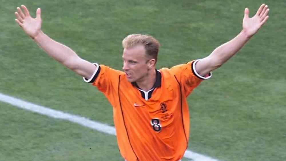 Dennis Bergkamp. (AFP/Rabih Moghrabi)