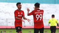 Make Aldo Maulidino, striker anyar Madura United. (Bola.com/Aditya Wany)