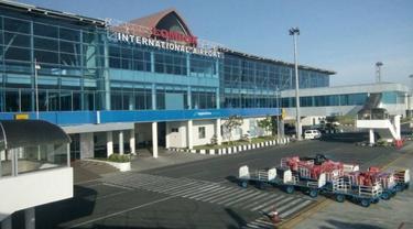 Bandara Internasional Lombok atau Lombok International Airport. (Ilyas/Liputan6.com)