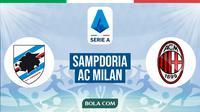 Serie A: Sampdoria vs AC Milan. (Bola.com/Dody Iryawan)
