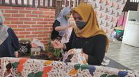 Motif Batik Kudus milik Yuli Astuti berhasil tembus pasar dunia