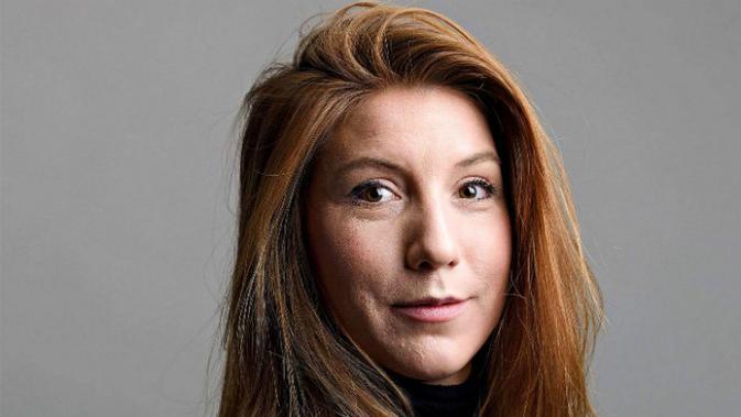 Kim Wall, jurnalis Swedia yang jasadnya ditemukan di Denmark. (Tom Wall/AFP)