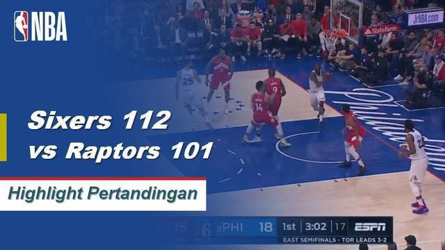 Jimmy Butler mencetak 25 poin dan Ben Simmons menambahkan 21 poin di Game 6 dalam kemenangan 76ers atas Raptors 112-101.