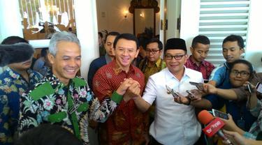 Ahok, Ridwan Kamil dan Ganjar Pranowo