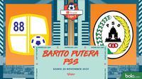 Shopee Liga 1 - Barito Putera Vs PSS Sleman (Bola.com/Adreanus Titus)