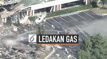 Ledakan gas alam terjadi di komplek perkantoran dan pusat perbelanjaan, Maryland. Tidak korban luka dalam insiden ini.