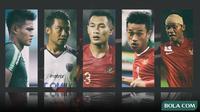 Trivia - Bek Timnas Indonesia paling berpengaruh di 10 tahun terakhir (Bola.com/Adreanus Titus)