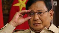 Letnan Jenderal (Purn) Prabowo Subianto Djojohadikusumo. (Liputan6.com/Johan Tallo)